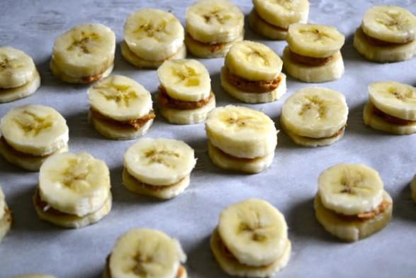 bombones de banana y Nutella