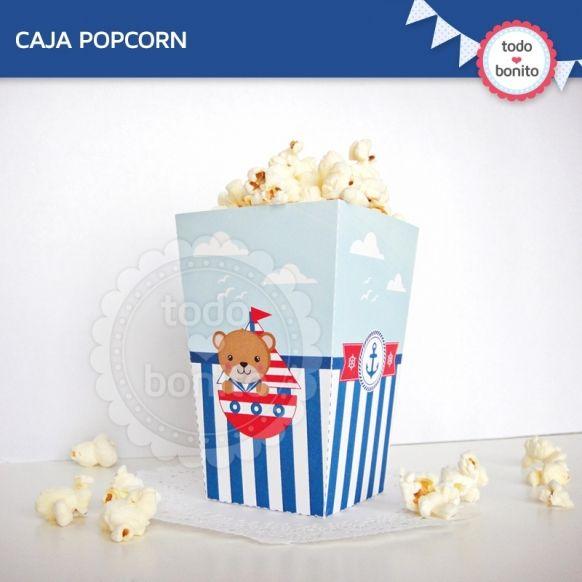 Caja popcorn kit marinero