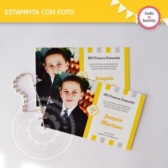 cruz-gris-amarillo-estampita-foto
