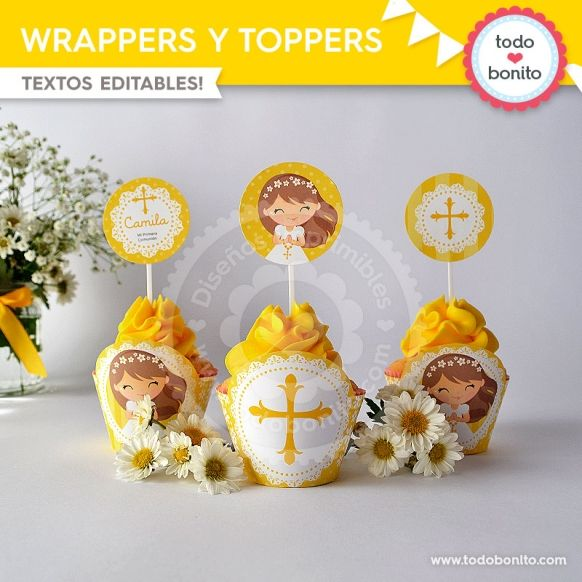 primera-comunion-margaritas-wrappers-toppers