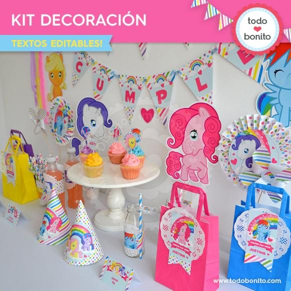ponys-decoracion-de-fiesta