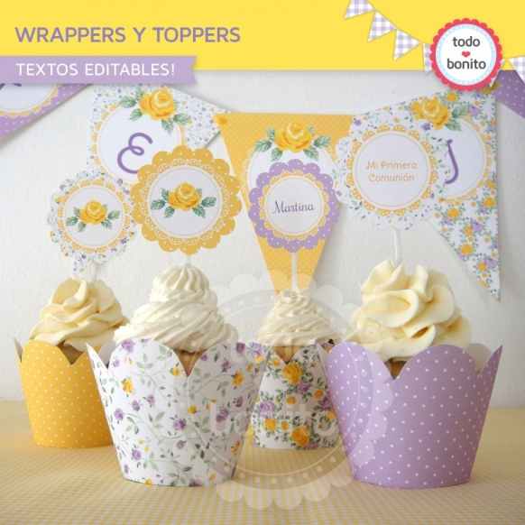shabby-chic-violeta-amarillo-wrappers-toppers