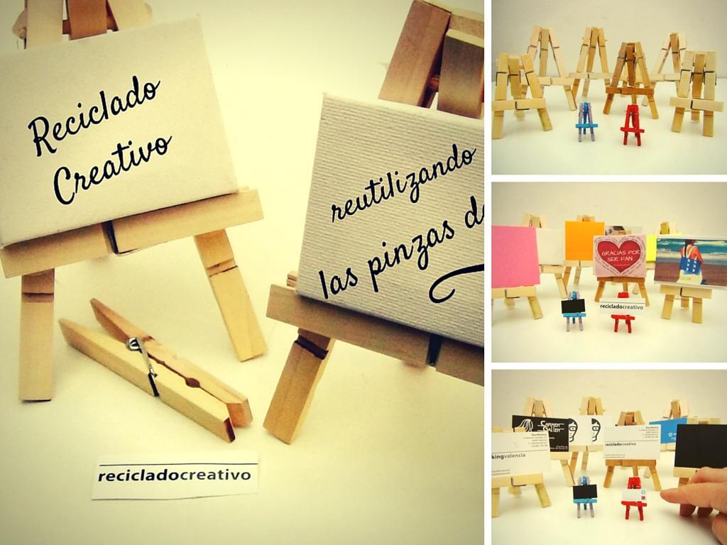 Caballetes en miniatura con pinzas de madera todo bonito - Donde decorar fotos ...