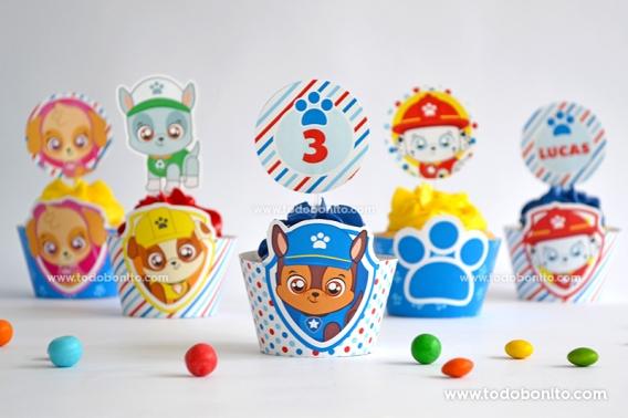 Cupcakes Patrulla Canina