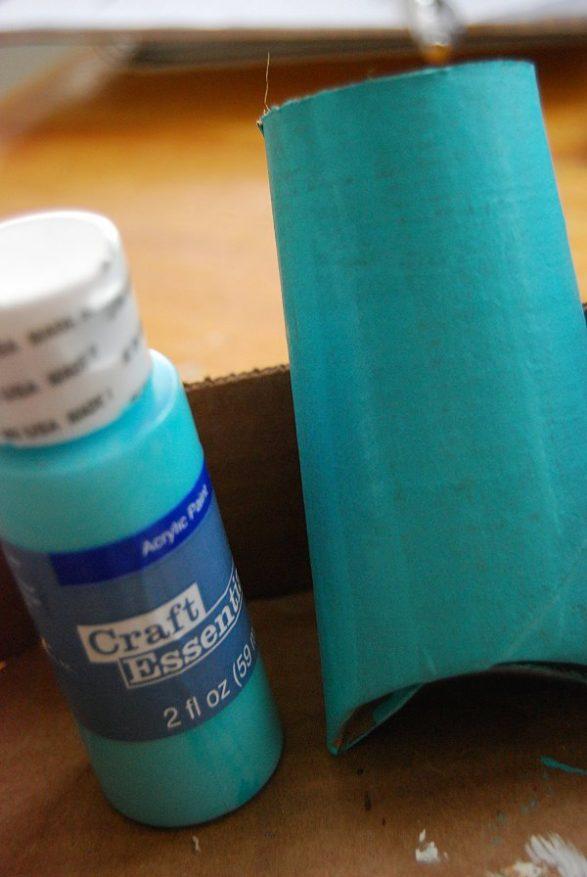 reciclado de rollos de papel higiénico