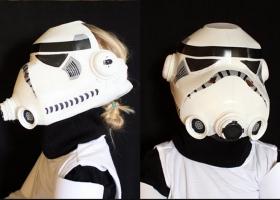 Fantastica máscara de los Stormtroopers de Star Wars