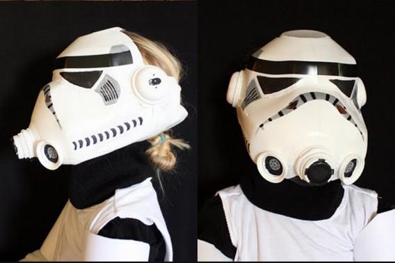 Fantastica máscara de Star Wars