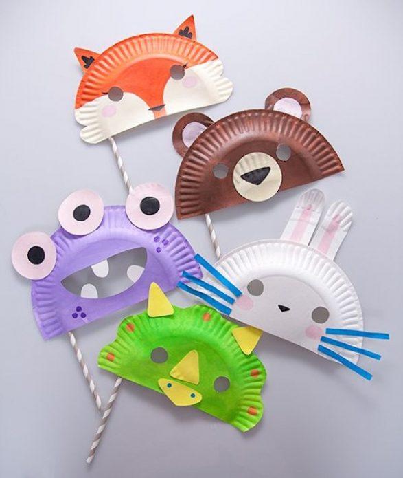 Mascaras recicladas