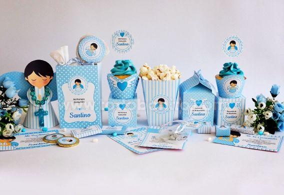 Kit imprimible ángeles para niños