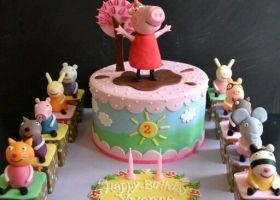 Las tortas mas lindas de la Cerdita mas famosa