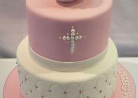 Las más lindas tortas para comunión