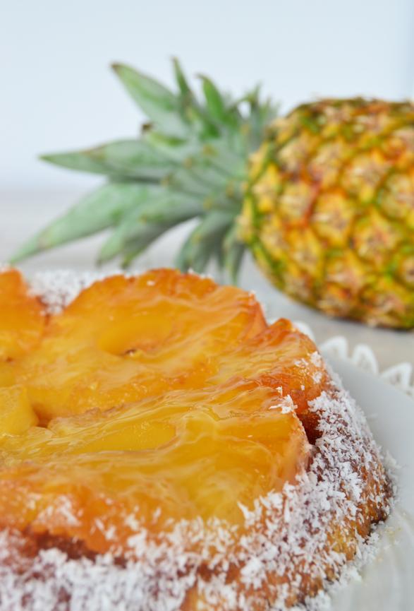 torta invertida de anana