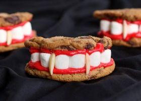 Dentaduras de Drácula para Halloween