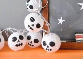 Guirnalda de Halloween paso a paso