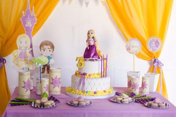 Decoraciones de Rapunzel