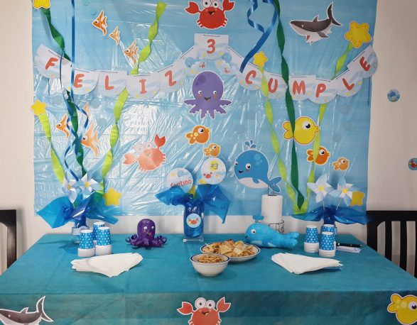 Decoracion animalitos de mar