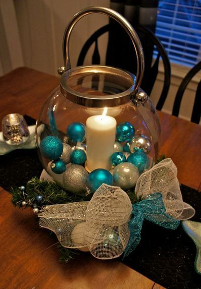 Ideas de centro de mesa de navidad