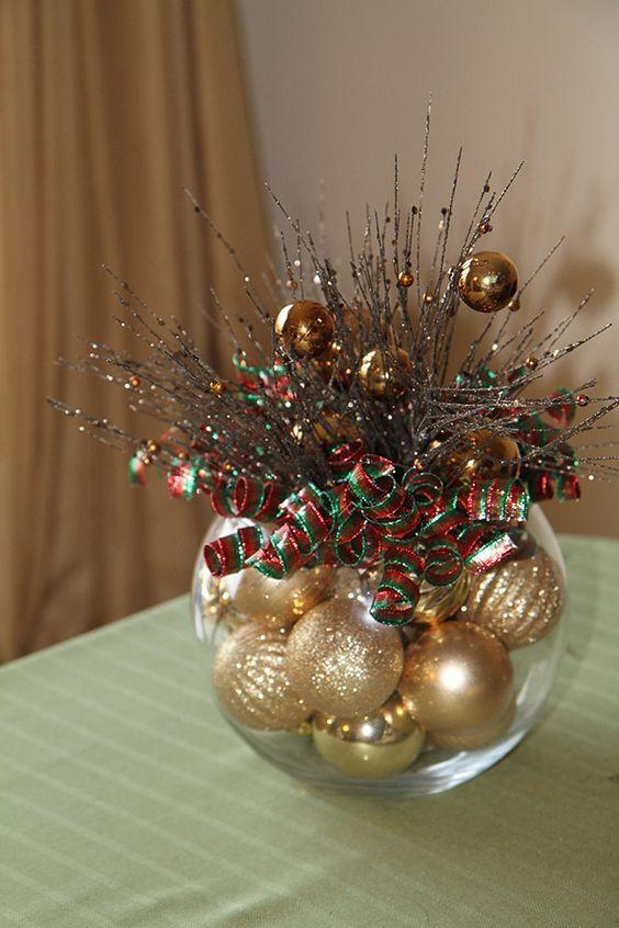 Ideas centros de mesa para navidad - Centros navidenos de mesa ...