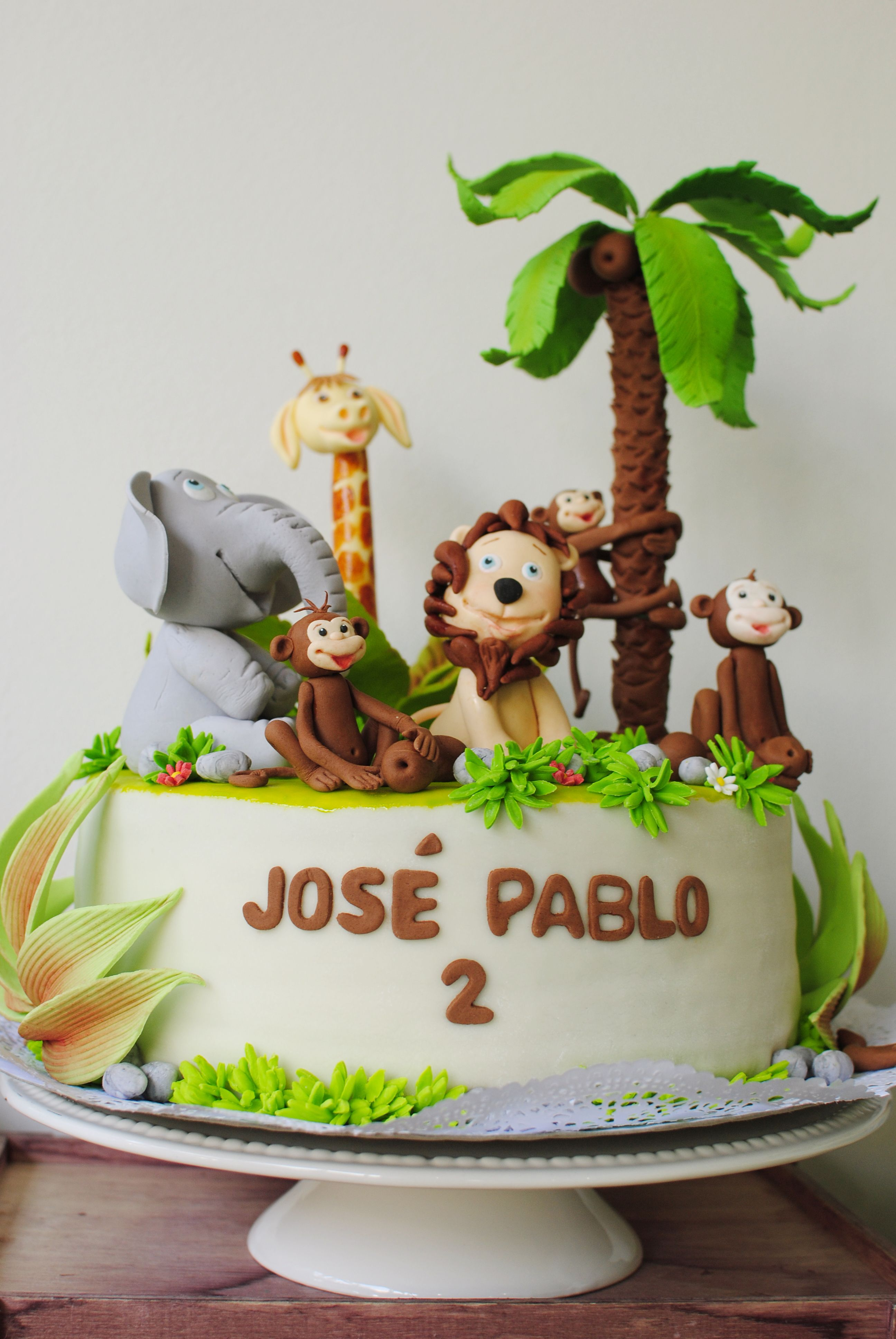 Cumpleaños en la selva para Juan Pablo