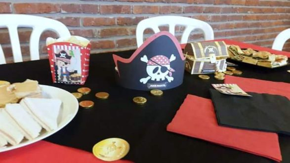 Fiesta pirata para Juan Martín