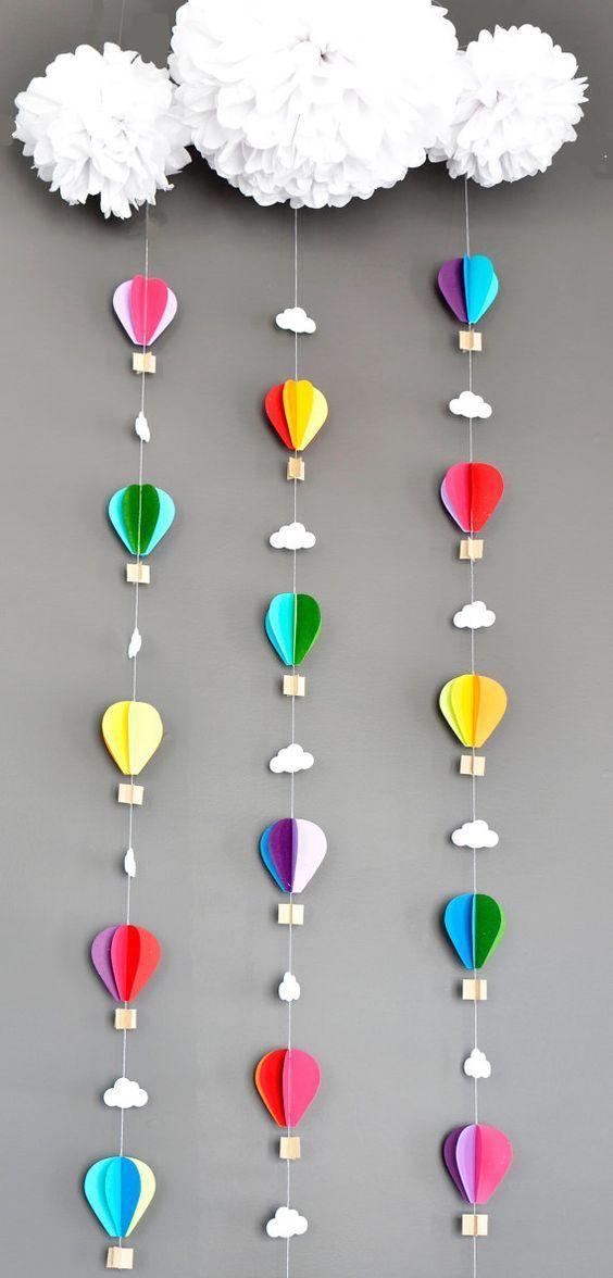 Worksheet. Ideas para realizar decoraciones con globos aerostticos  Todo Bonito