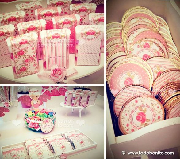 Mucho rosa para Guily