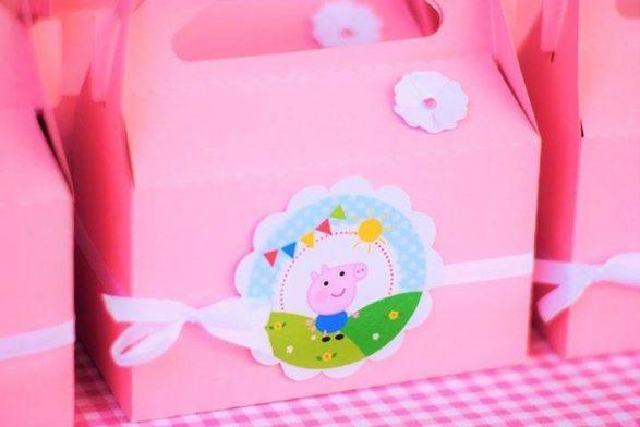 Kit imprimible de cerdita Peppa Pig