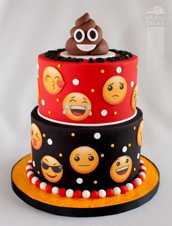 Las tortas mas lindas de Emojis