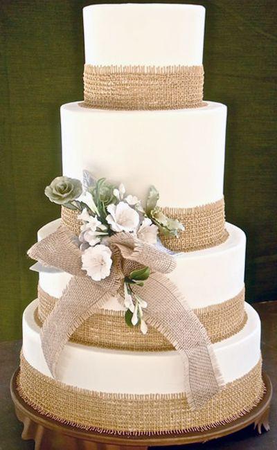 Las tortas mas lindas estilo rústico