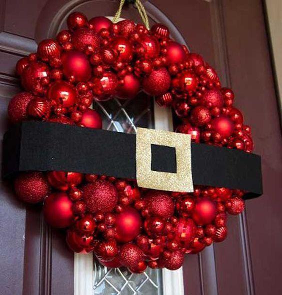 Hermosas ideas de coronas navideñas