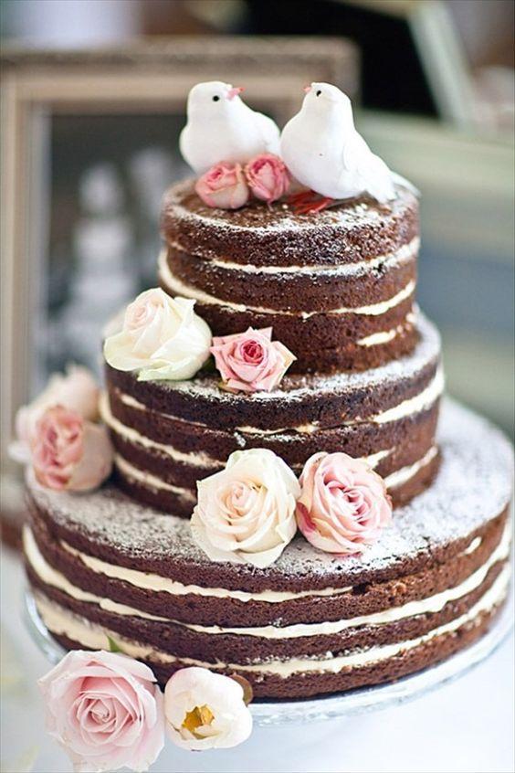 tortas estilo rustico