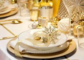 Ideas para una Navidad dorada y blanca