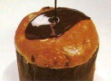 pan dulce relleno de helado