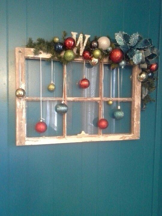 decoracion con esferas navideñas
