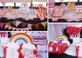 Un cumpleaños lleno de colores