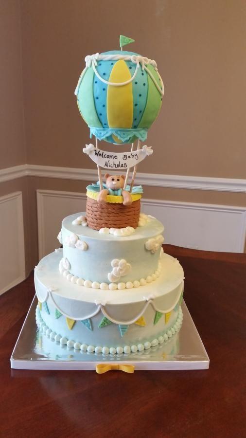 ideas tortas de globos aerostáticos