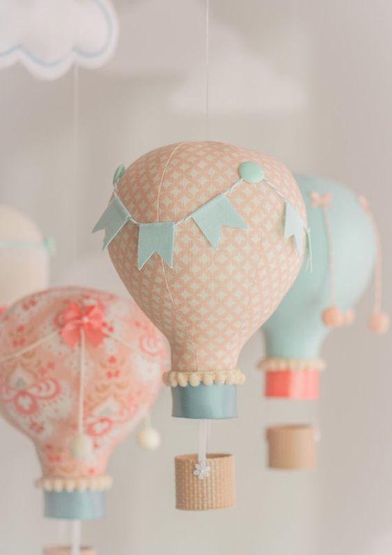 Ideas para realizar decoraciones con globos aerostáticos