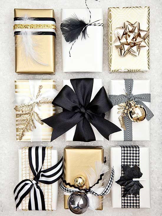 Las ideas más lindas para envolver regalos