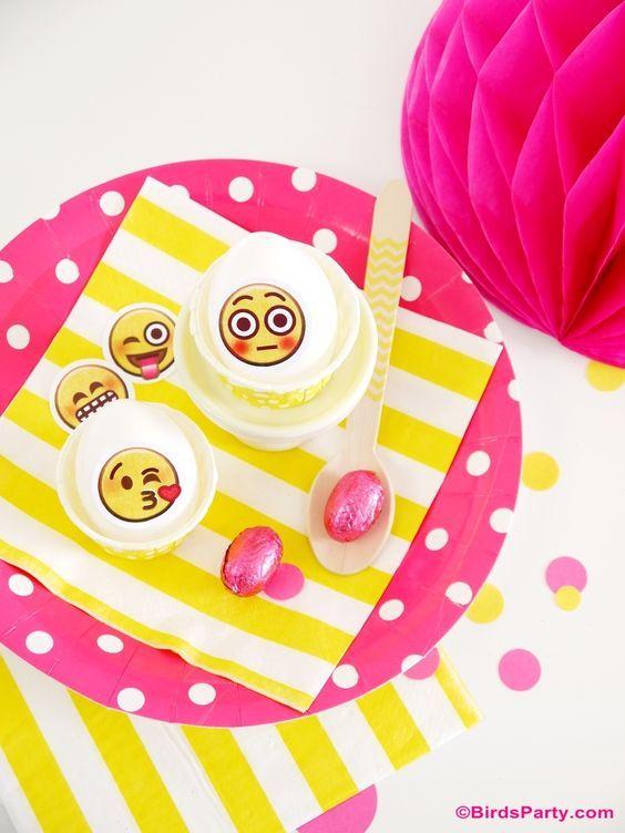 ideas decoracion emoji