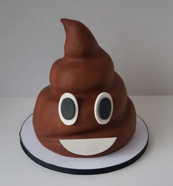 How Do I Make An Emogi Poop Cake
