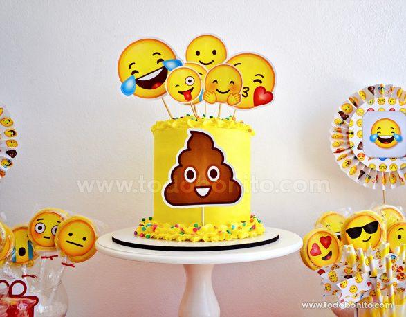 Torta de Emojis