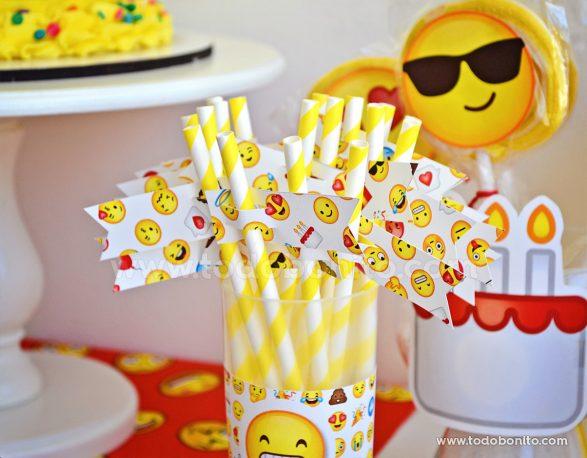Decoraciones para imprimir Emojis
