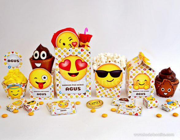 Cajas para imprimir Emojis
