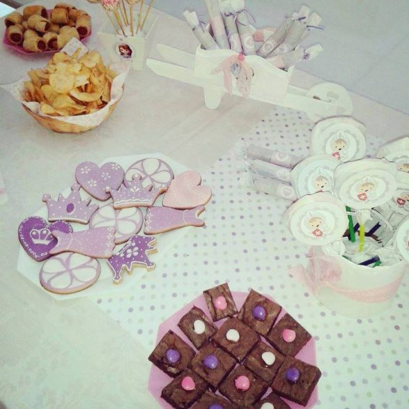 Kits imprimibles de princesa Sofía