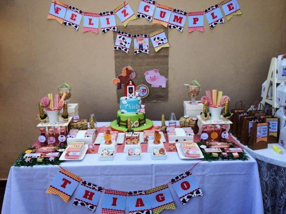 Cumpleaños en la Granja