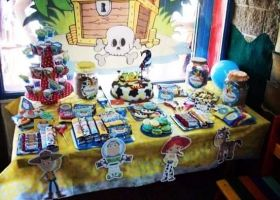 Toy Story en el cumpleaños de Tiziano