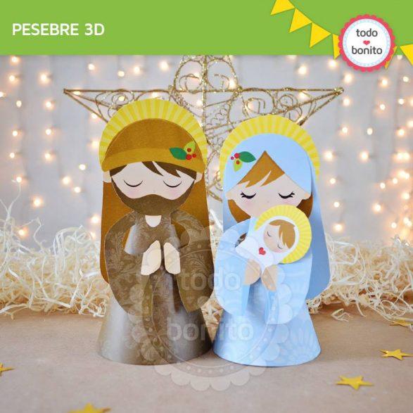 Diseños de Navidad Pesebre