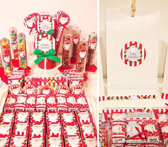 Kit Imprimiblede Navidad: Carita de Santa
