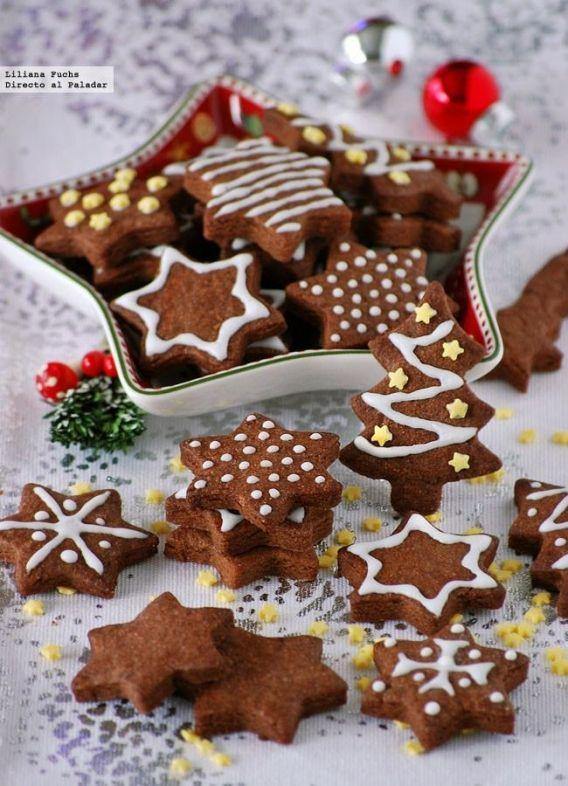 Deliciosas galletas de Navidad
