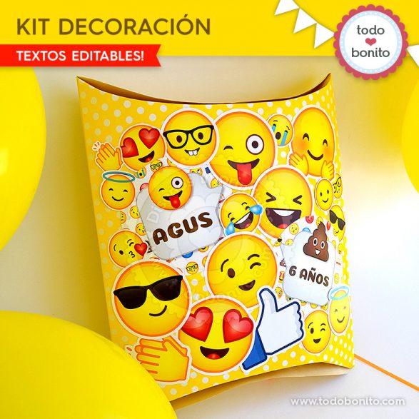 Ideas piñata Emojis